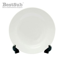 Plate 27 cm with stand...