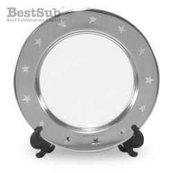 Round metal plate 15 cm...