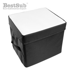 Collapsible container with...