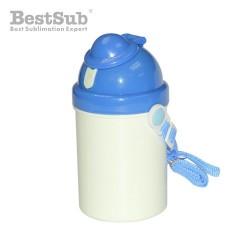 Children water bottle blue...