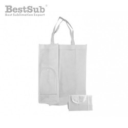 White foldable Eco bag 31 x...