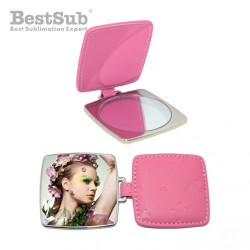 Square mirror Pink...