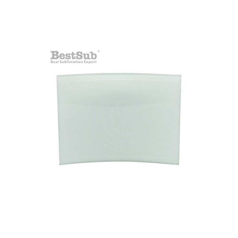 Glass carved frame 20 x 15 cm Sublimation Thermal Transfer