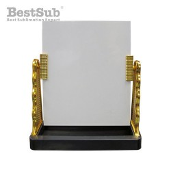 Glass photo frame with...