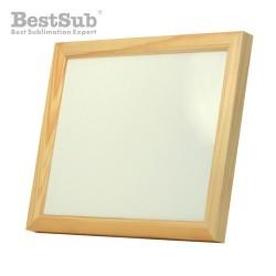 Wooden frame 28 x 23 cm