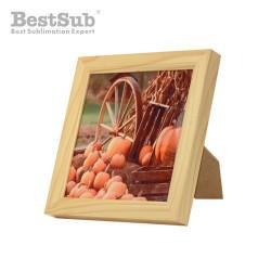 Wooden frame 18.5 x 18.5 cm