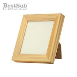 Wooden frame 14 x 14 cm