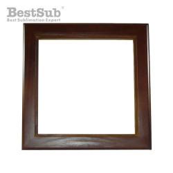 Wooden photo frame 15 x 15 cm