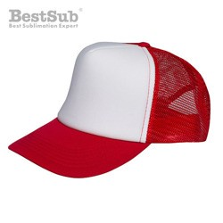 Cap for sublimation - red