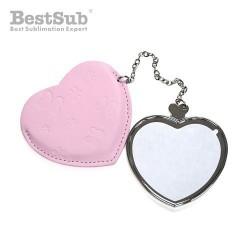 Mirror heart Pink...