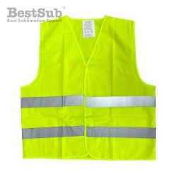 Yellow high-visibility vest...