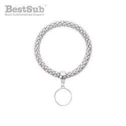 Metal bracelet with...