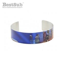 Aluminum bracelet 1.9 x 17...
