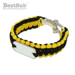 Paracord bracelet yellow...