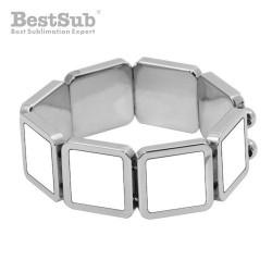 Bracelet with 9 metal...