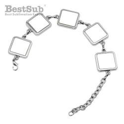 Bracelet with 5 metal...