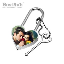 Heart shaped padlock 4 x...
