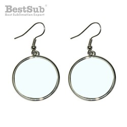 Circle earrings Sublimation...