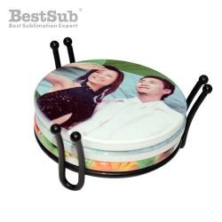 Round coaster holder