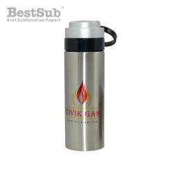 Silver metal thermose 320...
