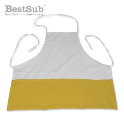 Photo kitchen apron yellow...