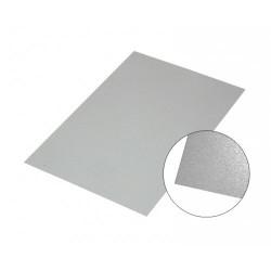 Silver glossy aluminium...