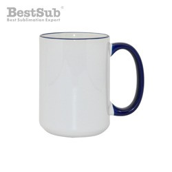 Mug MAX A+ 450 ml with navy...