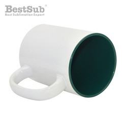 Mug MAX A+450 ml with green...